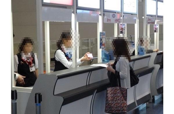 参加者名簿で精度の高いセグメント配布が可能!全国空港の旅行会社カウンターでのサンプリング