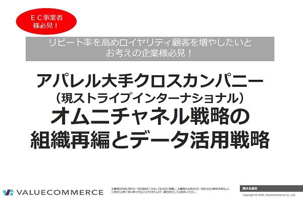 EC事業者様必見!アパレル大手クロスカンパニーの売上を大幅に伸ばしたデータマーケティング戦略とは?
