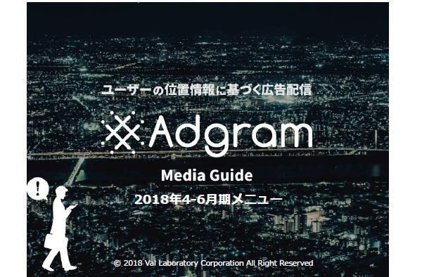 ユーザーの位置情報と外部メディアが連携、これまでにないターゲティング広告「Adgram」メディアガイド