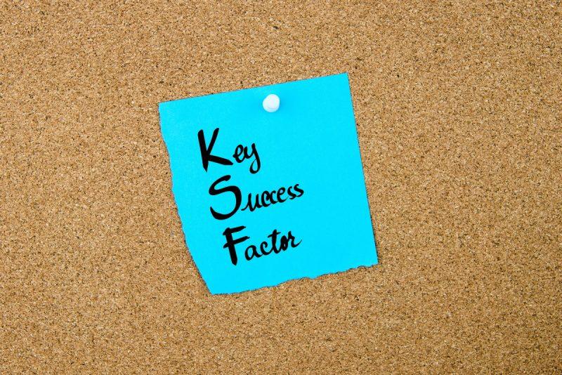 事業を成功させるためのKSFとは?そのメリットなどを解説