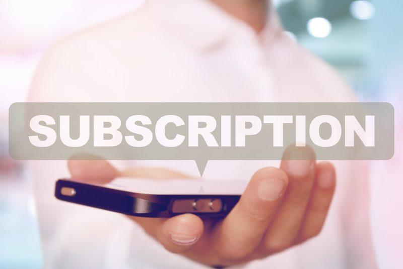 注目されているサブスクリプションサービスの利益構造やメリット・事例などを解説